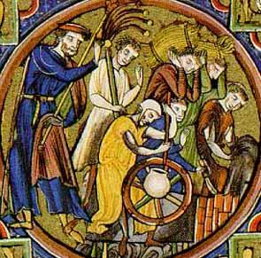 Bauern - Bible Moralisee um 1235