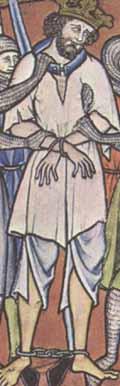 Maciejowski Bibelum 1250Bruche tragender König