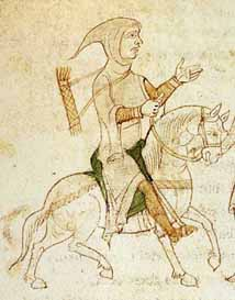 Gefangennahme von Richard Löwenherz Liber ad honorem augusti des Petrus von Ebulo um 1196