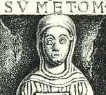 Stiftskirche Quedlinburg Grabplatte der Äbtissin Beatrix I., um 1130