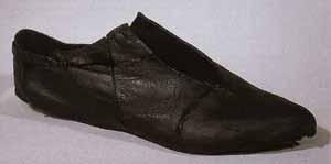 Schuhfund in der Bremer Kogge aus dem 14. Jhd.