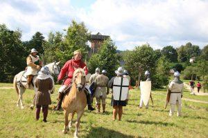 Baernau Tachov 2017 Manoever mit Pferd
