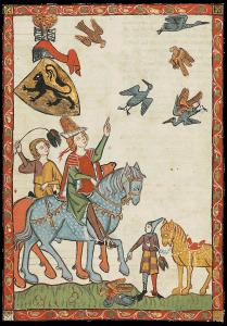 Codex Manesse Heinrich der Erlauchte Seite 24