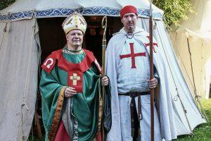 Torgelow 2017 Bischof und Templer