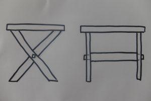 Unser Mark Meissen Tisch - der zweite Entwurf