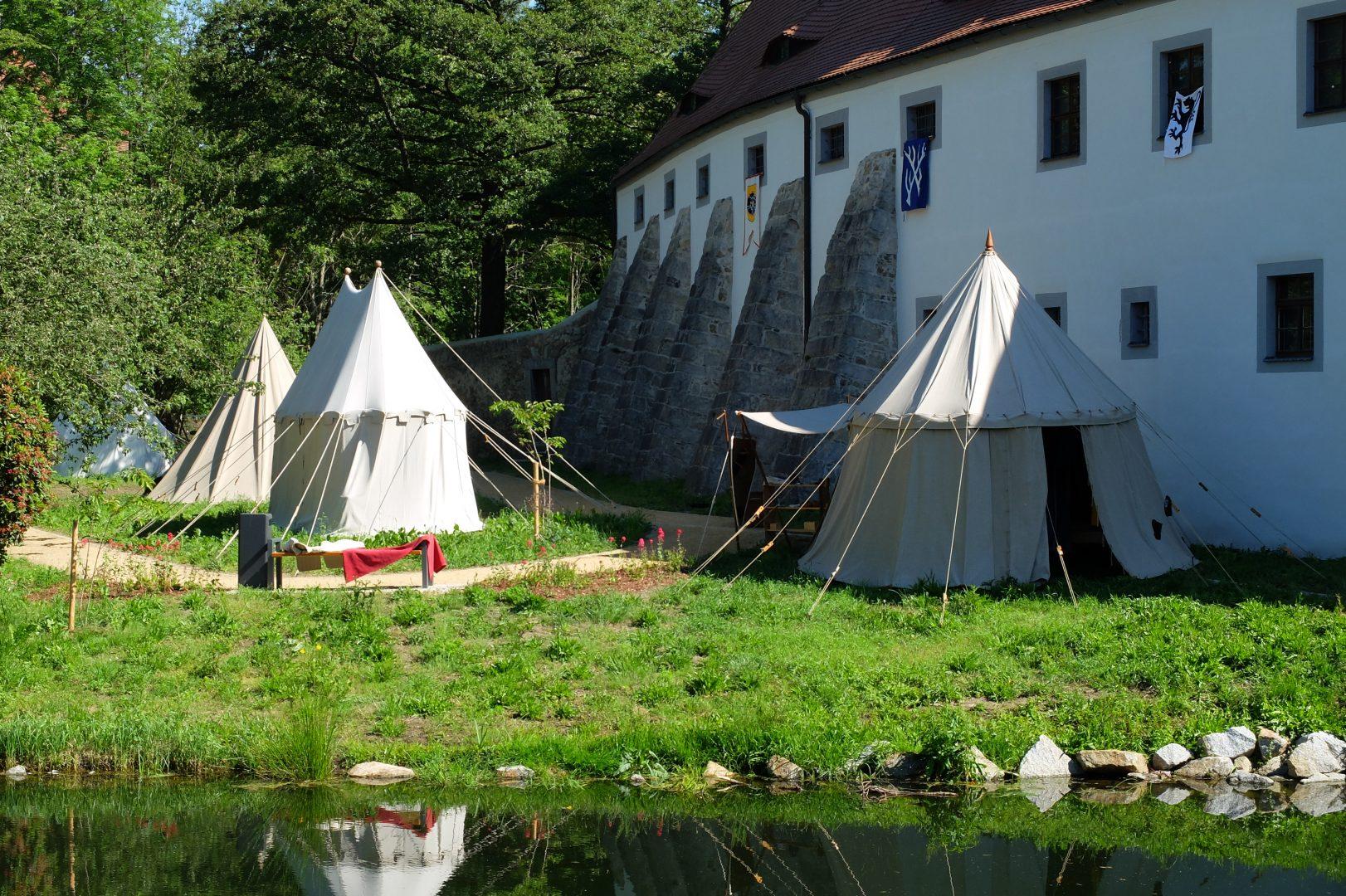 Unser Lager auf Schloss Klippenstein