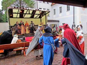 Tanzvorführung in Oschatz