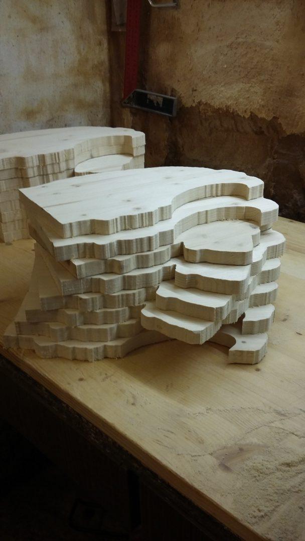 Ein 3D Puzzle