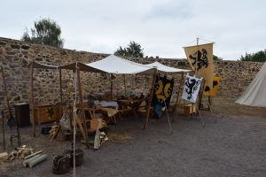 Unser Lager im Schloss Zörbig - Teil 1